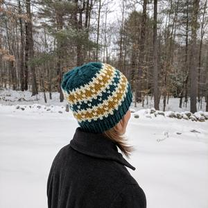 Winter Stripes Hat