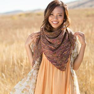 Ironwood Shawl in Knitscene