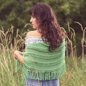 Spearmint Shawl